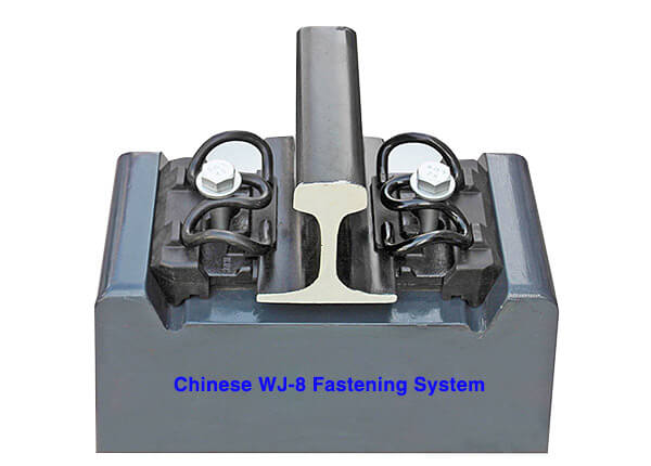 Chinese WJ-8 fastening system