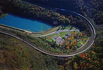 Fantasy Railroad Trip—The Horseshoe Curve Railroad Line