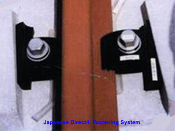 Japanese direct 4 fastening system