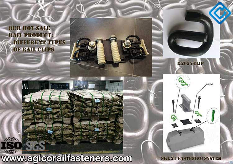 types of hot sale rail clips