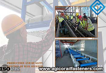 Production and Quality Control of Rail Sleeper
