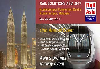 Welcome to Meet AGICO at RAIL SOLUTIONS ASIA 2017