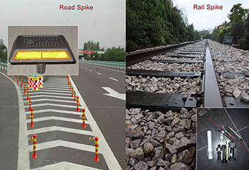 Railroad Spike and Road Spike Is Only One Word Changed, What Is the Difference?