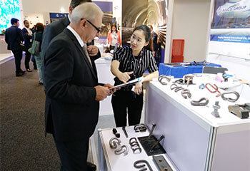 AGICO Railway Fasteners Are Popular by Customers at InnoTrans 2016