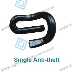 single anti-theft clip