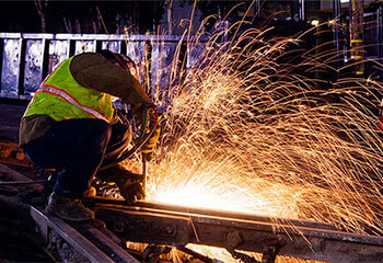 New Trend from Ordinary High Speed Steel Rail to Continuous Welded Rail